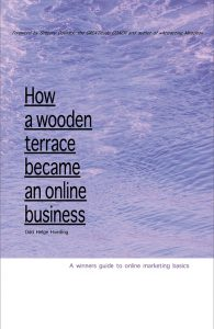 a wooden terrace,an online business,beginners guide to online marketing
